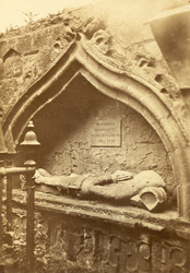 Tomb, St Mary's Chapel, Rothesay 0